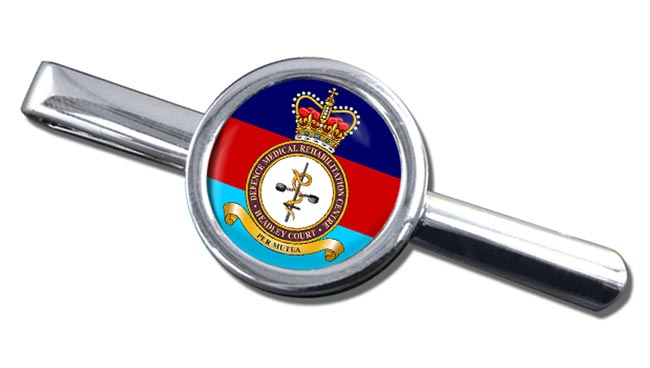 Defence Medical Rehabilitation Centre Round Cufflink and Tie Clip Set