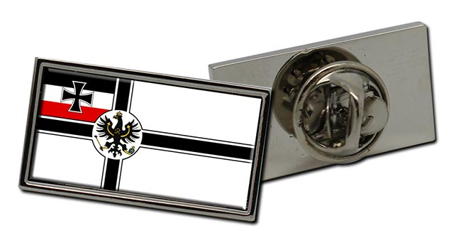 Reichskriegsflagge (German Imperial War Flag) Rectangle Pin Badge