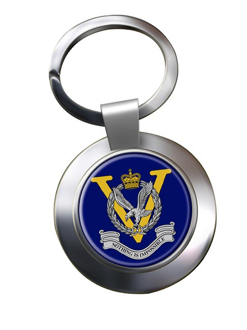 Joint Helicopter Command Flying Station Aldergrove Chrome Key Ring