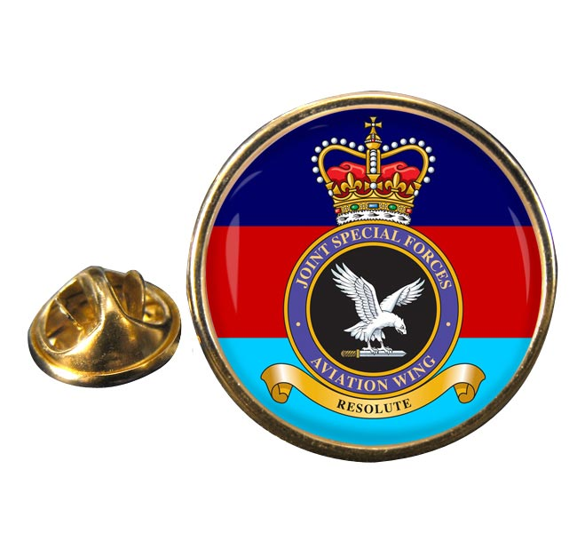 Joint Special Forces Aviation Wing Round Pin Badge