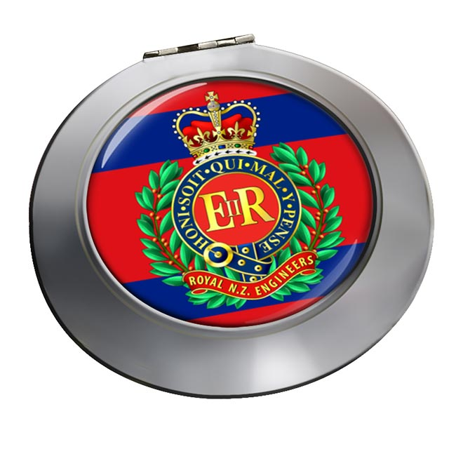 Corps of Royal New Zealand Engineers Chrome Mirror