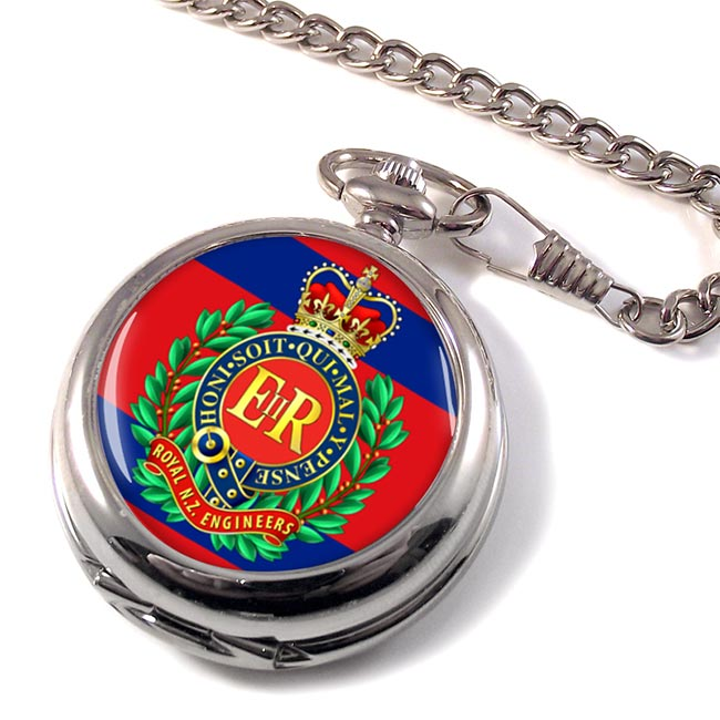 Corps of Royal New Zealand Engineers Pocket Watch