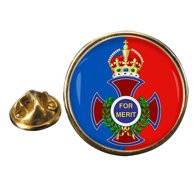 Order of Merit Round Pin Badge