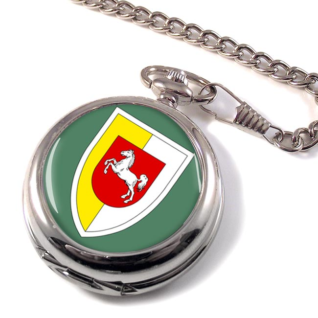 Panzerlehrbrigade 9 (German Army) Pocket Watch