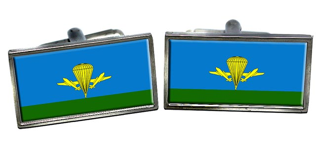 Russian Airborne Troops Rectangle Cufflinks