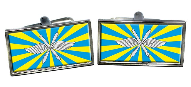 Russian Air Force Rectangle Pin Badge