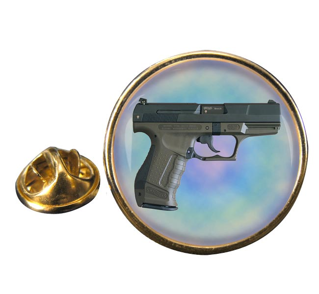 Walther P99 Round Pin Badge