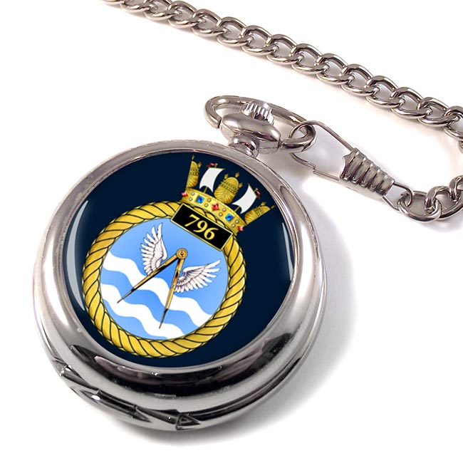 796 Naval Air Squadron (Royal Navy) Pocket Watch