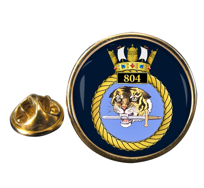 804 Naval Air Squadron (Royal Navy) Round Pin Badge