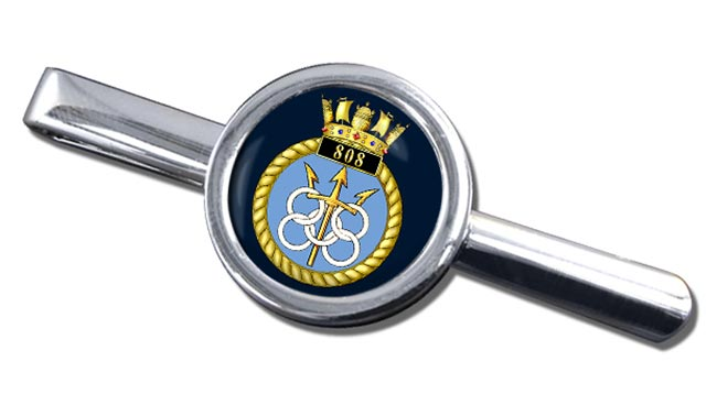 808 Naval Air Squadron (Royal Navy) Round Tie Clip
