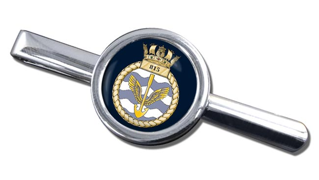 815 Naval Air Squadron (Royal Navy) Round Tie Clip