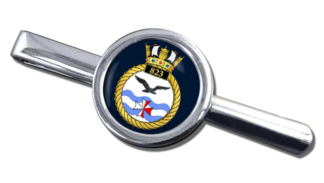 823 Naval Air Squadron (Royal Navy) Round Tie Clip