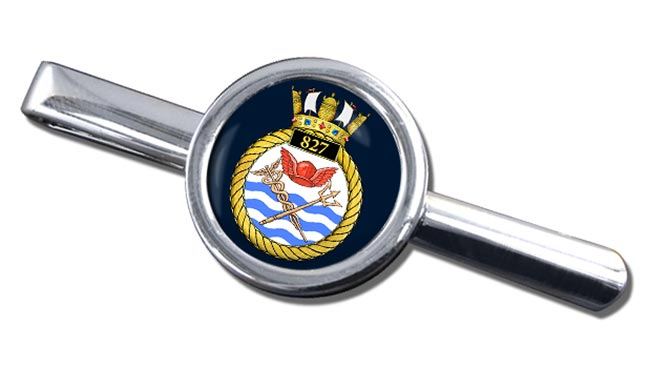 827 Naval Air Squadron (Royal Navy) Round Tie Clip
