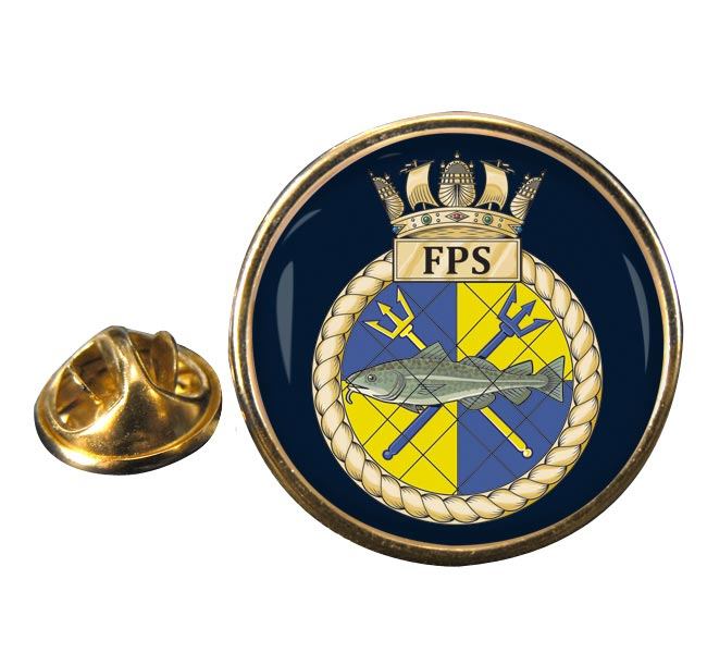 Fishery Protection Squadron (Royal Navy) Round Pin Badge