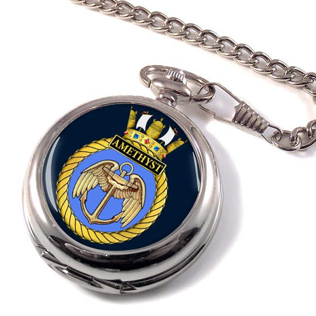 HMS Amethyst (Royal Navy) Pocket Watch