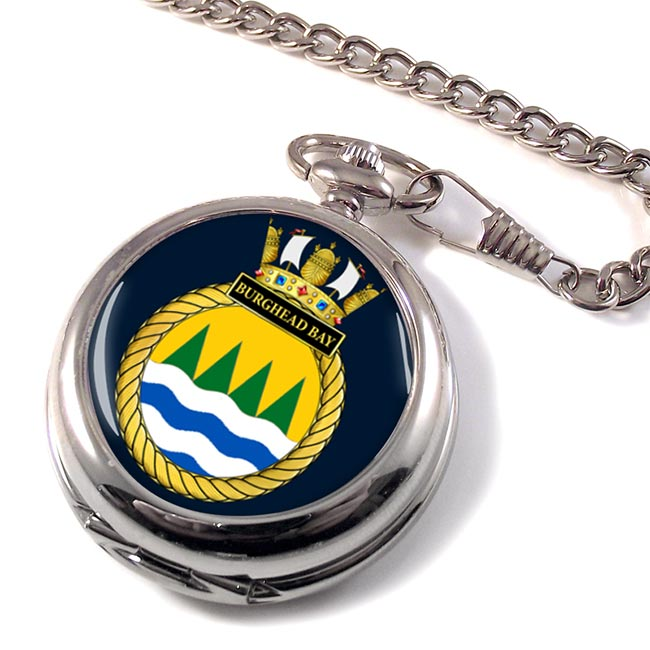 HMS Burghead Bay (Royal Navy) Pocket Watch