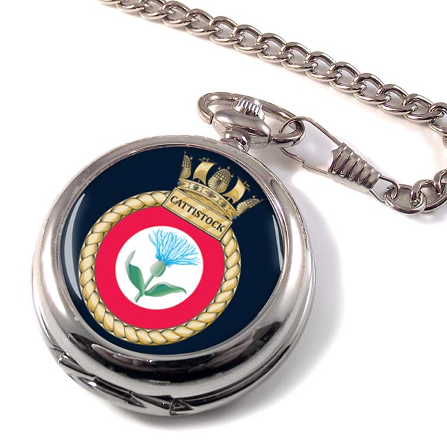 HMS Cattistock (Royal Navy) Pocket Watch