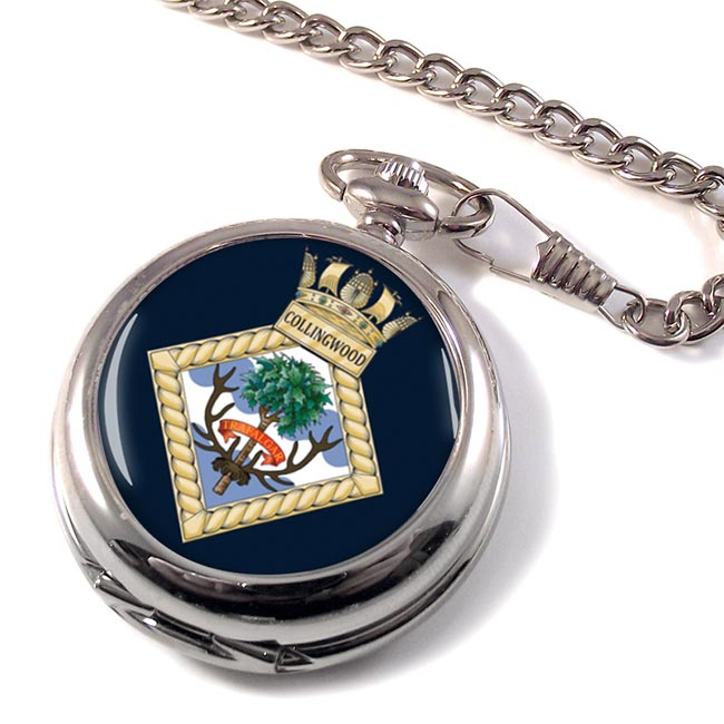 HMS Collingwood (Shore est) (Royal Navy) Pocket Watch