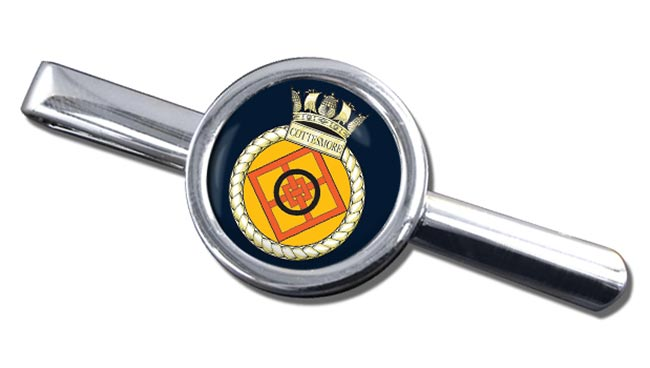 HMS Cottesmore (Royal Navy) Round Tie Clip