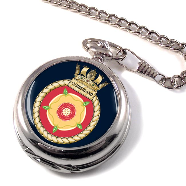 HMS Cumberland (Royal Navy) Pocket Watch