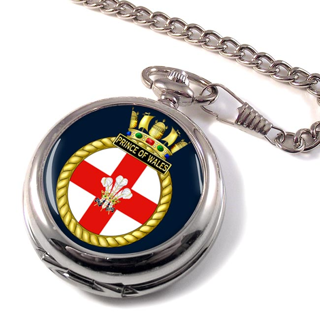 HMS Prince of Wales (Royal Navy) Pocket Watch