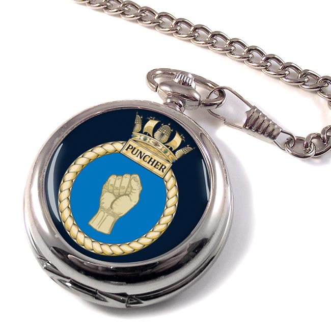 HMS Puncher (Royal Navy) Pocket Watch