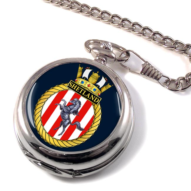 HMS Shetland (Royal Navy) Pocket Watch