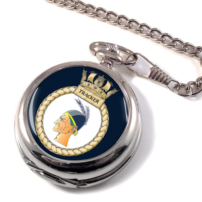 HMS Tracker (Royal Navy) Pocket Watch