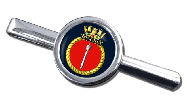 HMS Truncheon (Royal Navy) Round Tie Clip
