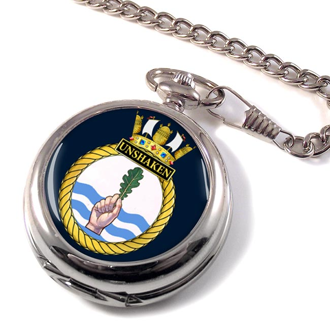 HMS Unshaken (Royal Navy) Pocket Watch