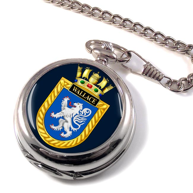 HMS Wallace (Royal Navy) Pocket Watch