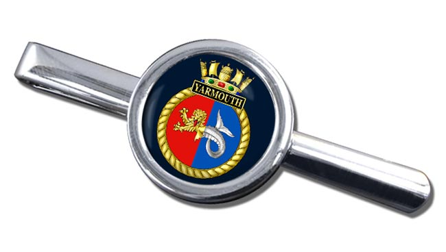 HMS Yarmouth (Royal Navy) Round Tie Clip
