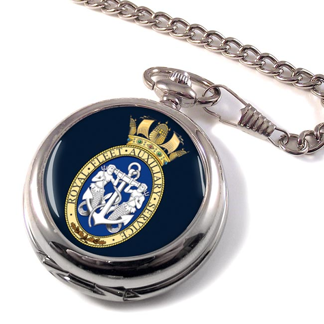 RFA Badge (Royal Navy) Pocket Watch