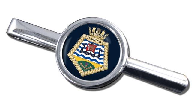 RFA Largs Bay (Royal Navy) Round Tie Clip