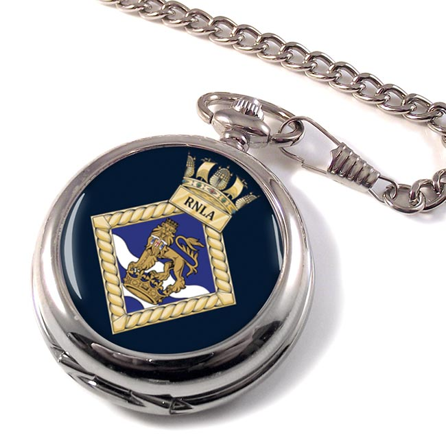 Royal Navy Leadership Academy RNLA Pocket Watch