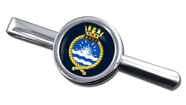 Royal Naval Auxiliary Service Round Tie Clip