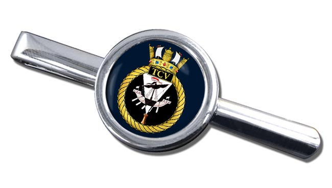 HM Tank Cleaning Vessels (Royal Navy) Round Tie Clip