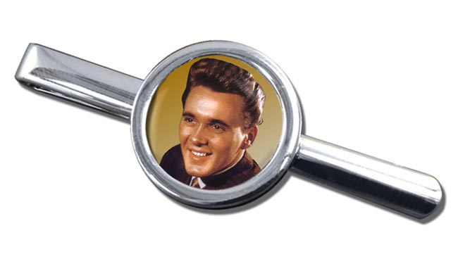 Billy Fury Round Tie Clip