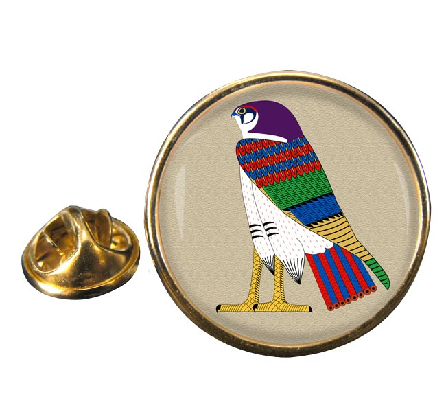 Horus God of the Sky Round Pin Badge