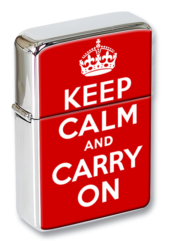 Keep Calm and Carry On Flip Top Lighter