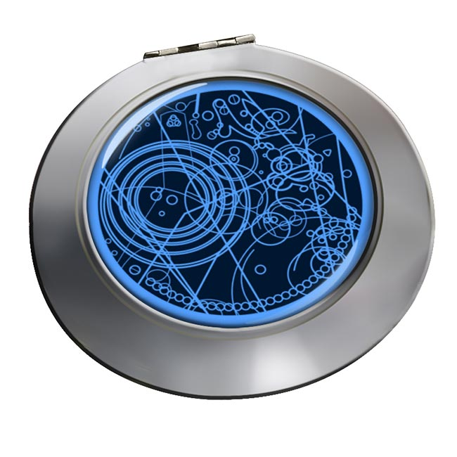 Time Lord Chrome Mirror