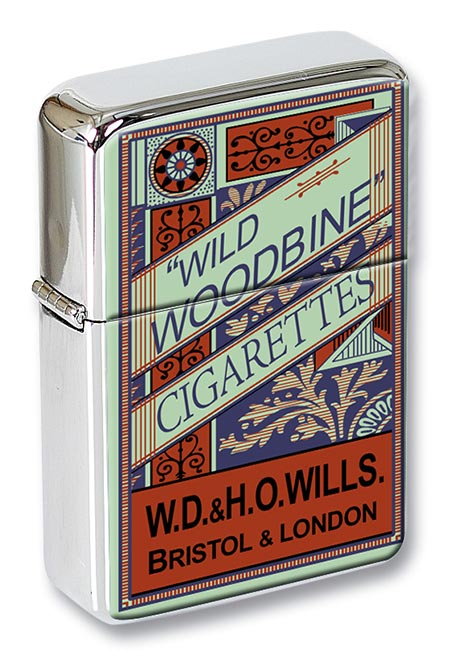 Woodbine Flip Top Lighter