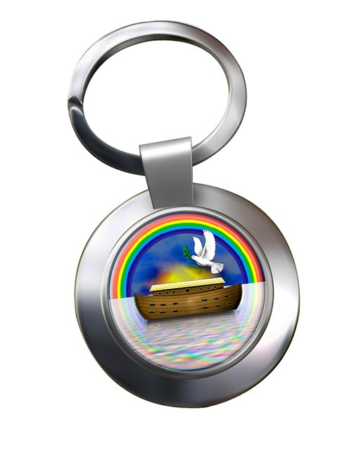 Mark Master Masons Royal Ark Mariner Chrome Key Ring
