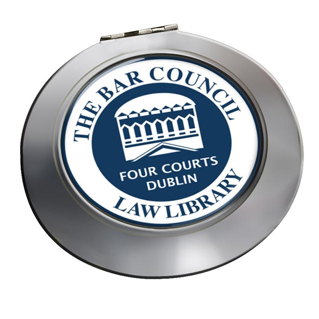 Bar Council Law Library Chrome Mirror