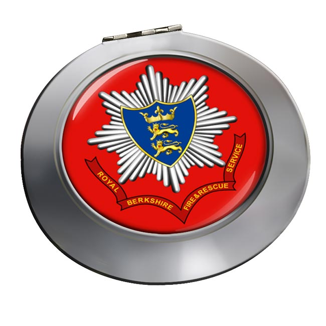 Royal Berkshire Fire and Rescue Chrome Mirror