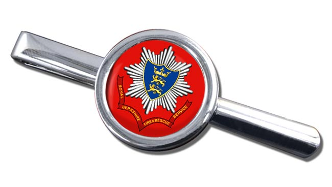 Royal Berkshire Fire and Rescue Round Tie Clip