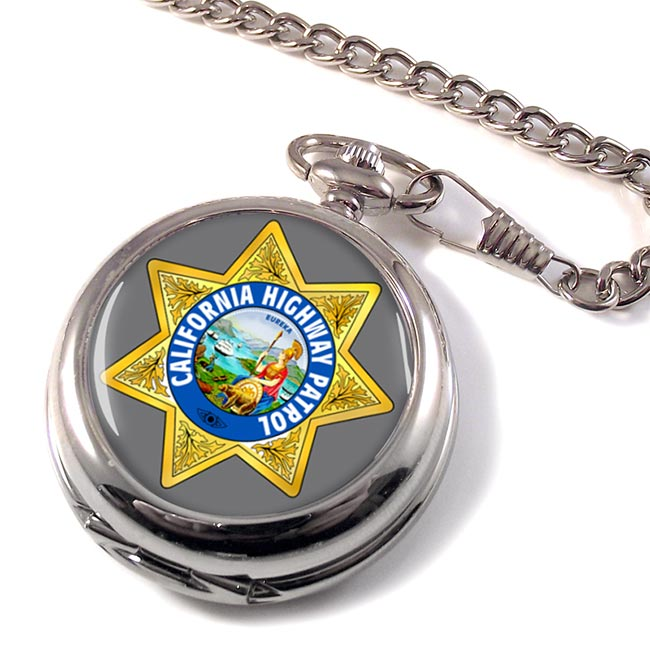 California Highway Patrol Pocket Watch