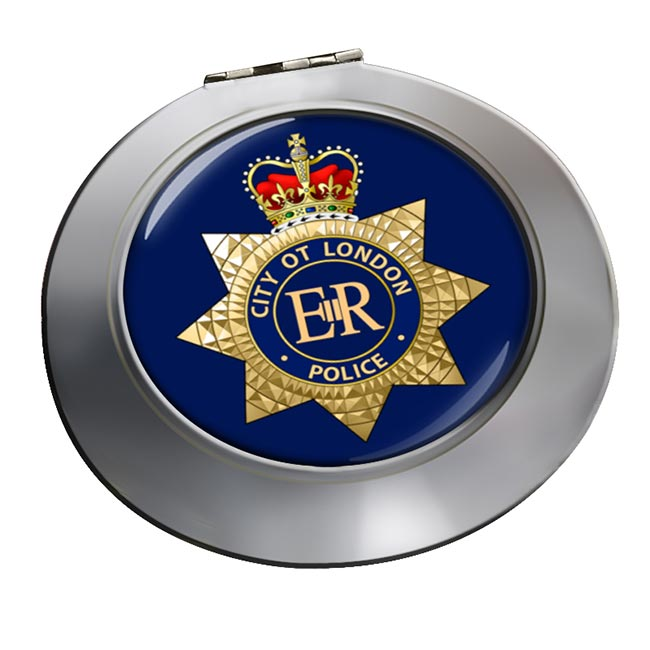 City of London Police Chrome Mirror