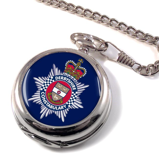 Derbyshire Constabulary Pocket Watch