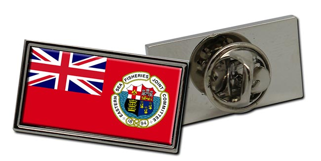 Eastern Sea Fisheries Ensign Rectangle Tie Pin
